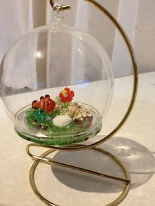 Tropical fish Glass Ball