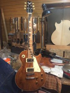 Les Paul type using domestic timber